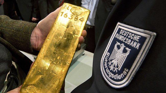 Bundesbank Gold Bar