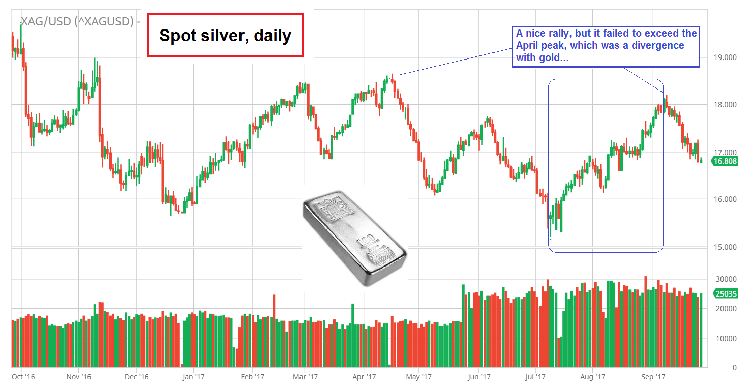 Silver Spot Daily