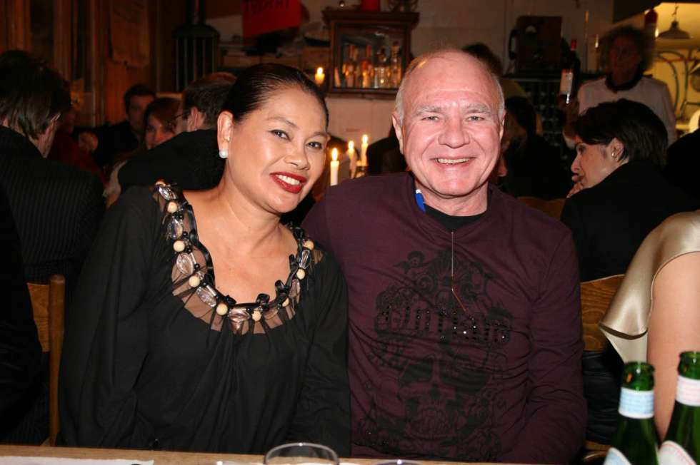 Dr. Marc Faber and his wife