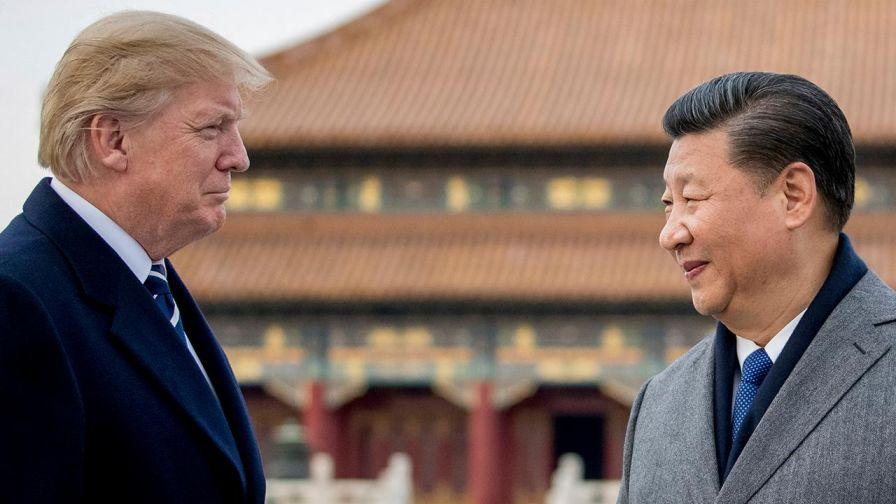 President Trump meets President Xi