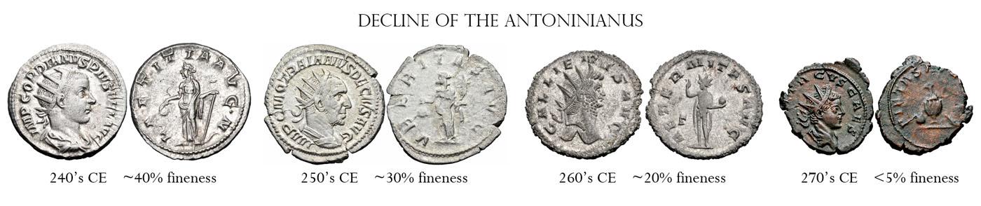 Decline of the antoninianus