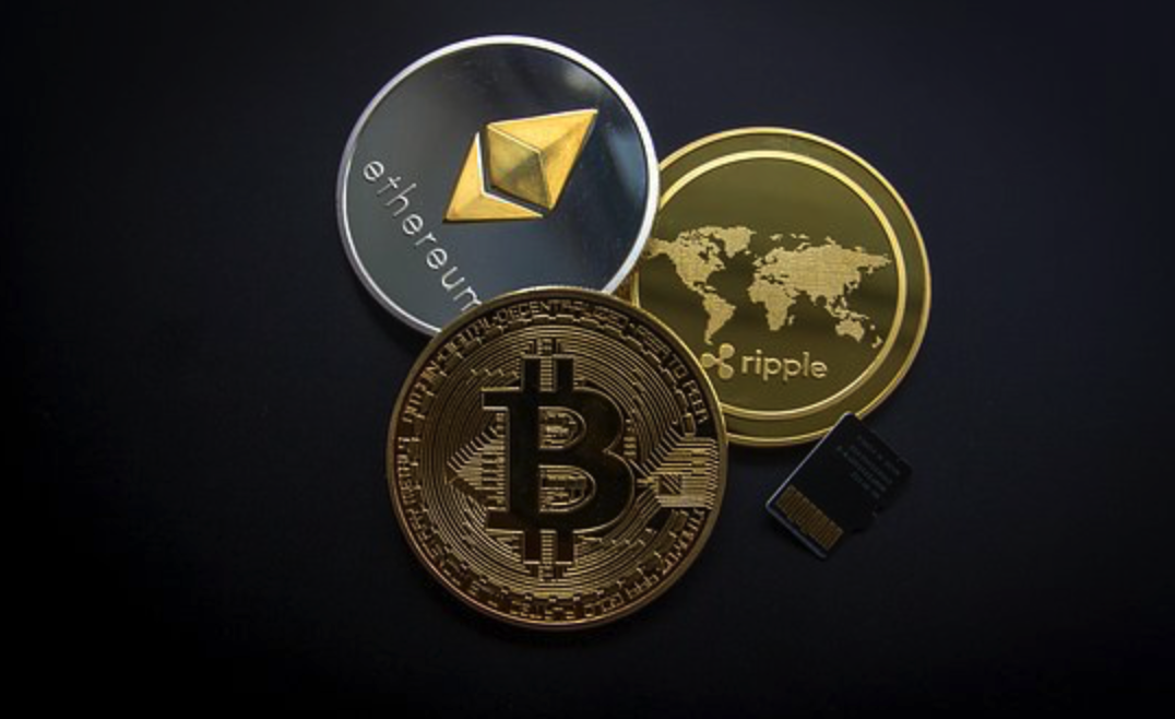 Ripple, Bitcoin, Ethereum