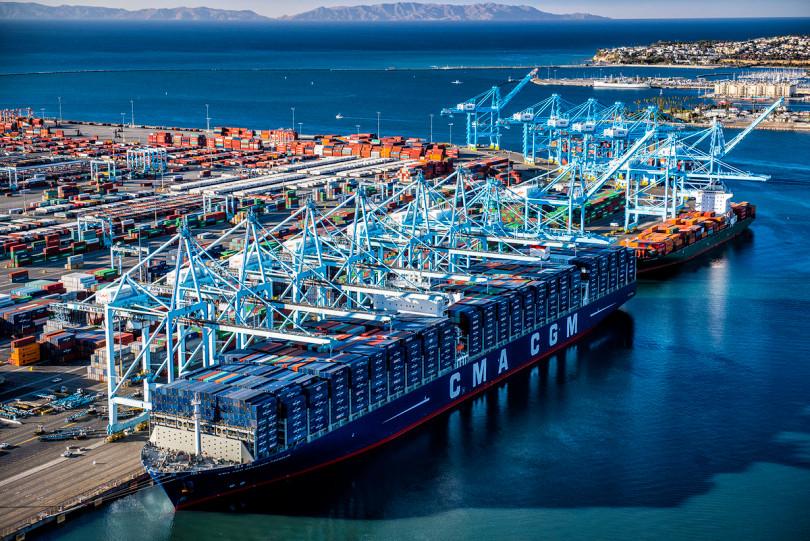 Cargo Ship Port