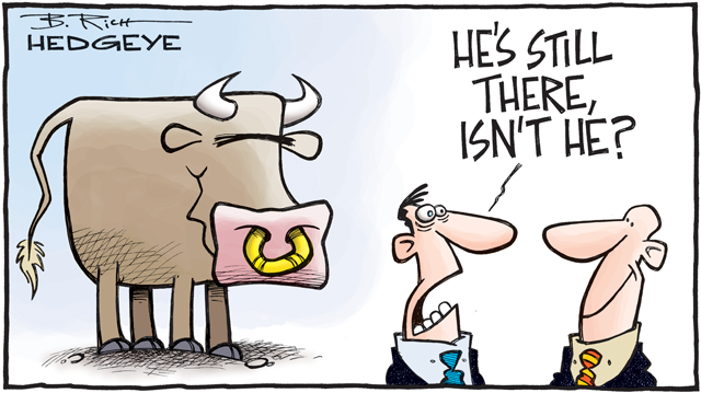 Bull Still there Cartoon