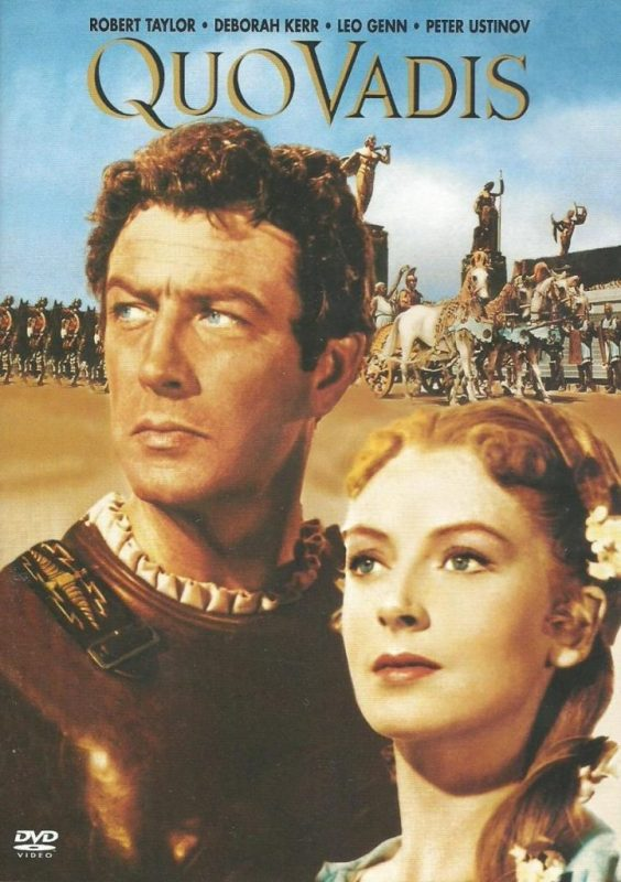 Robert Taylor and Deborah Kerr