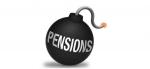 Pensions bomb