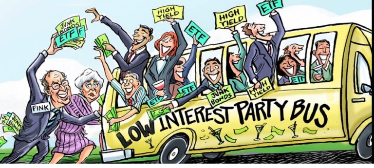 The Fed's party bus