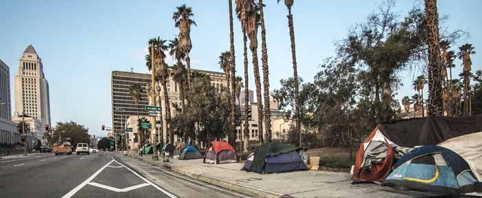 Homeless in Lost Angeles