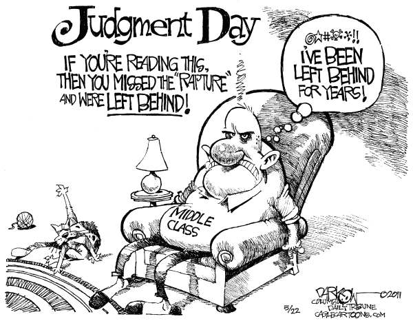 Missing judgment day