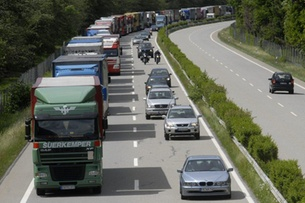 Traffic jams cost Swiss more than just time