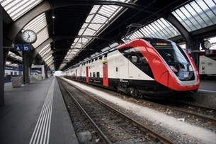 Swiss take the train more often, and further, than European neighbours