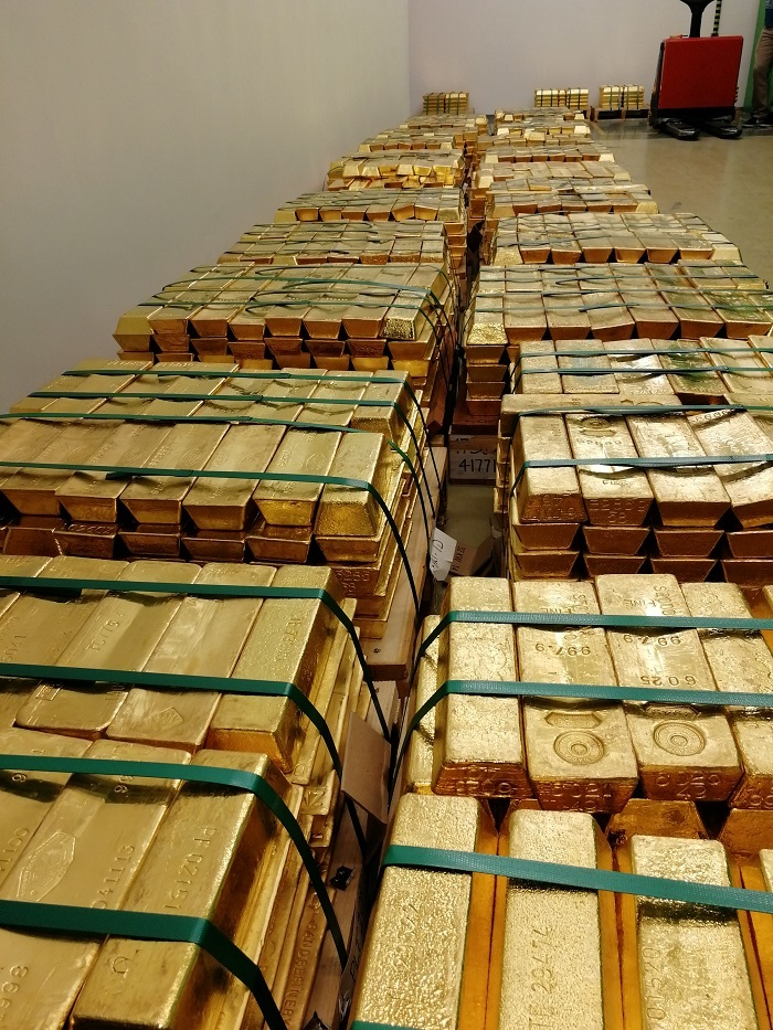 Hungary's new Gold Bars