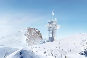 'Lighthouse' planned for Swiss mountain top