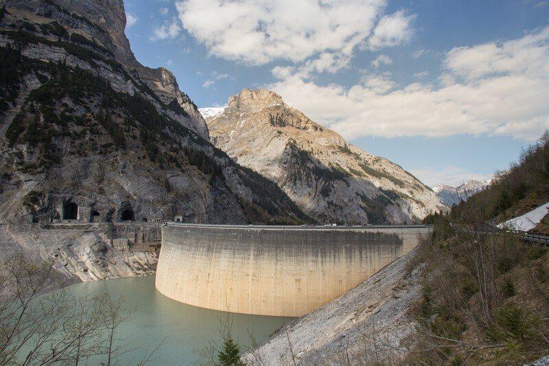 Gigerwaldsee dam Switzerland