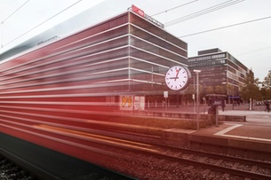 Train delay data queries image of Swiss railways