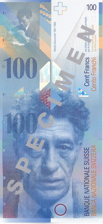 100-Franc Note