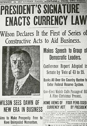The History and Structure of the Federal Reserve System