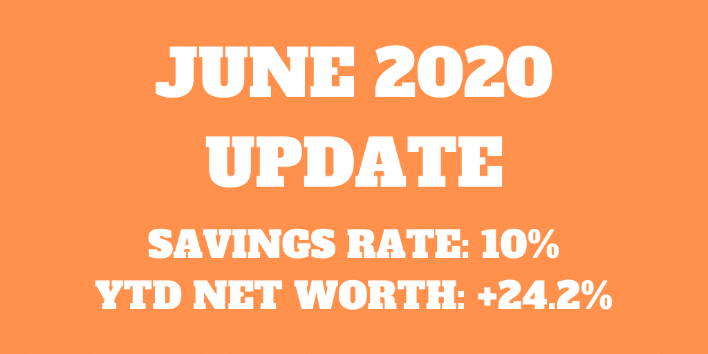 June 2020 – Another month deep in taxes!