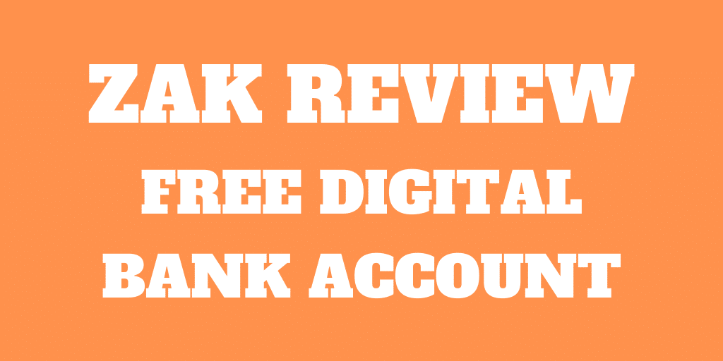 Zak Review: Free Digital Swiss Bank Account