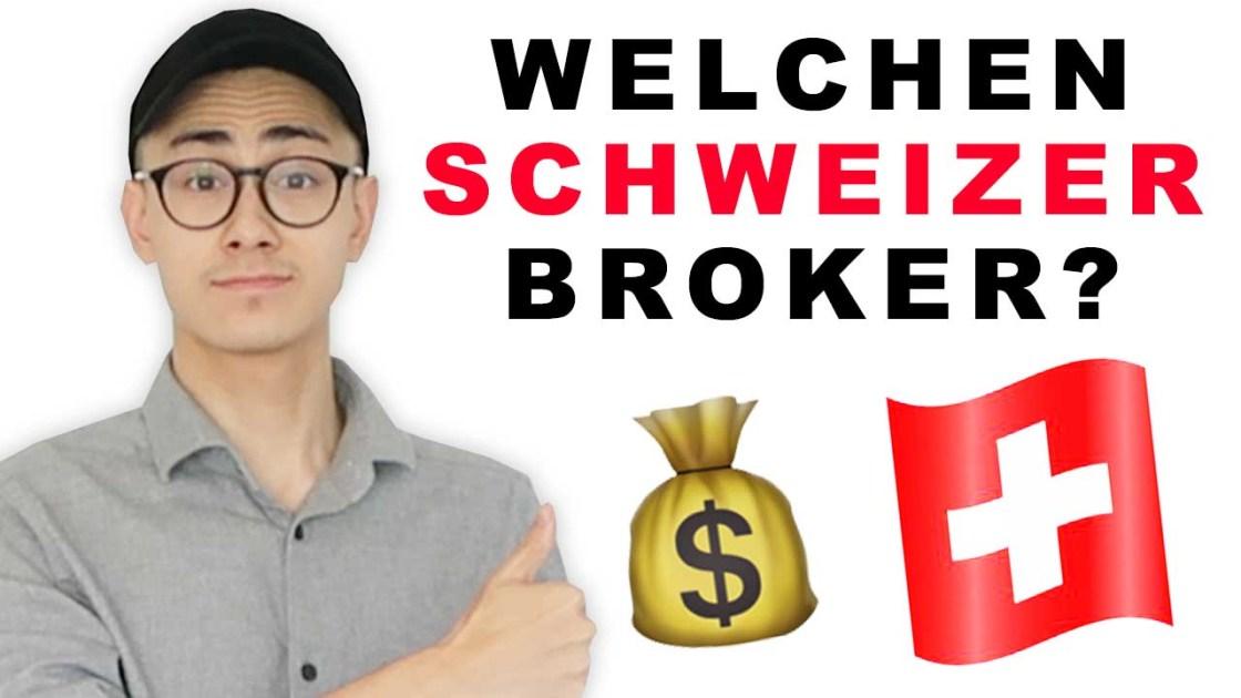 Welchen Schweizer Broker nutze ich?🇨🇭💰