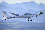 First Skydive from a Solar Electric Plane