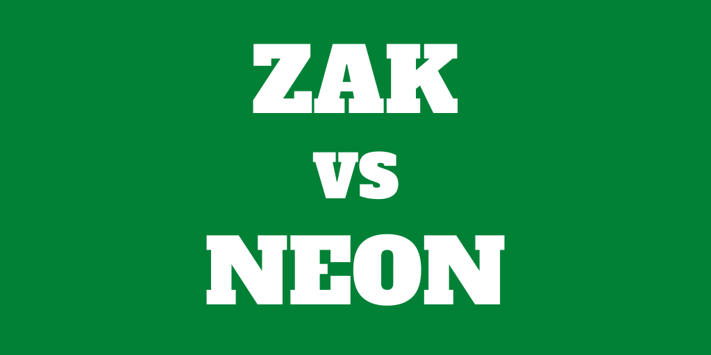 Zak vs Neon: Best Swiss digital bank account in 2020?