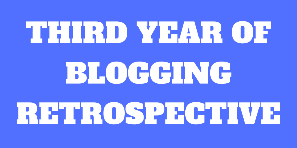 Third Year of Blogging – The Poor Swiss is 3 years old!