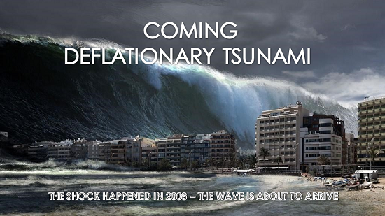 Too Busy Frontrunning Inflation, Nobody Sees the Deflationary Tsunami